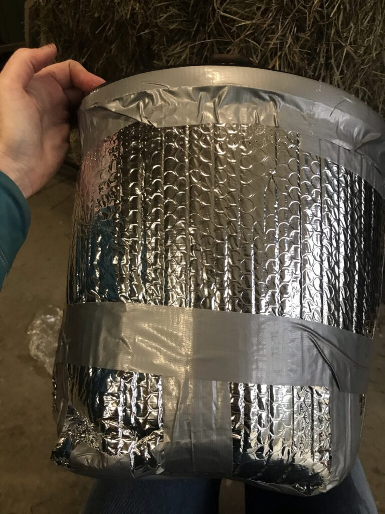 how to tape the top